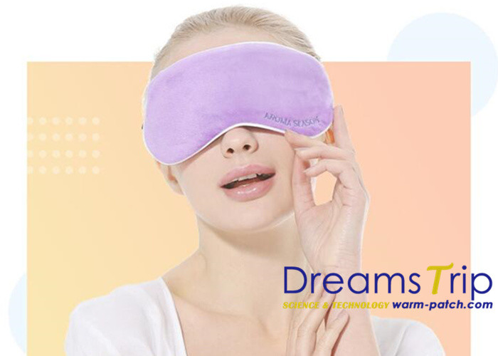 Usb Heated Warming Eye Mask Far-infrared Therapy Adjustable Temperature Graphene Sleeping Mask
